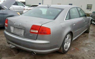 Audi A8 L 2004 4x4 4.2 pod LPG